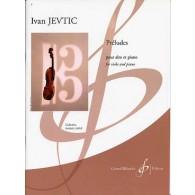 JEVTIC I. PRELUDES ALTO