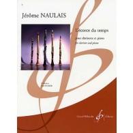 NAULAIS J. L'ECORCE DU TEMPS CLARINETTE