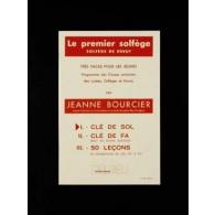 BOURCIER J. PREMIER SOLFEGE CLE DE SOL