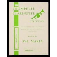 GOUNOD C. AVE MARIA CLARINETTE OU TROMPETTE