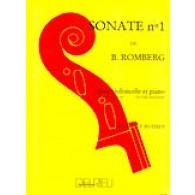 ROMBERG B. SONATE OP 43 N°1 VIOLONCELLE