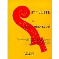 CAIX D'HERVELOIS L. 2ME SUITE VIOLONCELLE