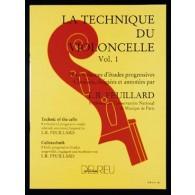FEUILLARD L.R. TECHNIQUE DU VIOLONCELLE VOL 1