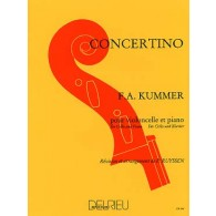 KUMMER F.A. CONCERTINO VIOLONCELLE