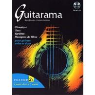 GUILLEM P./JANIA P./KHALIFA M. GUITARAMA VOL 2A GUITARE