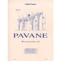 FAURE G. PAVANE OP 50 PIANO