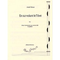 TELMAN A. EN SURVOLANT LE TIBET TROMPETTE OU CORNET