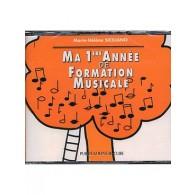 SICILIANO M.H. MA 1RE ANNEE DE FORMATION MUSICALE CD