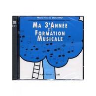 SICILIANO M.H. MA 3ME ANNEE DE FORMATION MUSICALE CD