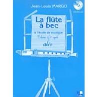 MARGO J.L. LA FLUTE A BEC ALTO A L'ECOLE DE MUSIQUE