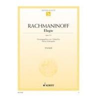 RACHMANINOV S. ELEGIE OP 3/1 PIANO