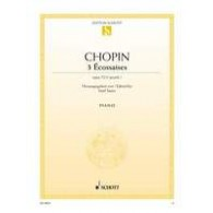 CHOPIN F. ECOSSAISE OPUS 72 N°3 PIANO