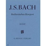 BACH J.S. CONCERTO ITALIEN BWV 971 PIANO