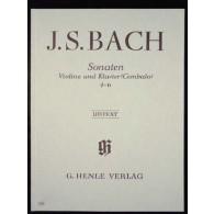 BACH J.S. SONATES 4 - 6 VIOLON