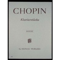 CHOPIN F. PIANO PIECES PIANO