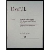 DVORAK A. PIECES ROMANTIQUES VIOLON