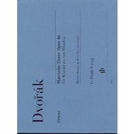 DVORAK A. DANSES SLAVES OP 46 PIANO 4 MAINS