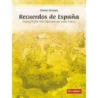 FERRAN F. RECUERDOS DE ESPANA SAXO ALTO
