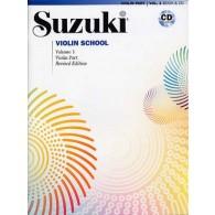 SUZUKI VIOLIN SCHOOL VOL 1 + CD