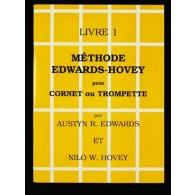 EDWARDS A./HOVEY N.W. METHODE  LIVRE 1 DE CORNET ET TROMPETTE