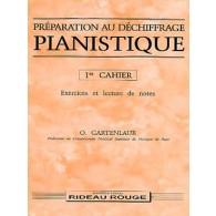 GARTENLAUB O. PREPARATION AU DECHIFFRAGE PIANISTIQUE VOL 1