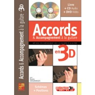 DESGRANGES B. ACCORDS & ACCOMPAGNEMENT EN 3D GUITARE TAB