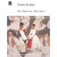 "KODALY Z. DREI STUCKE AUS ""HARY JANOS"" PIANO"