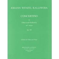 KALLIWODA J.W. CONCERTINO OP 110 HAUTBOIS