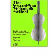 BENOY A.W./BURROWES L. THE SECOND-YEAR VIOLONCELLO METHOD