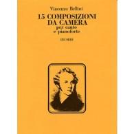 BELLINI V. 15 COMPOSIZIONI DA CAMERA CHANT