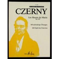 CZERNY K. LES HEURES DU MATIN OP 821 PIANO