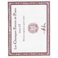 CLASSIQUES (LES) FAVORIS DU PIANO VOL 11 4 MAINS