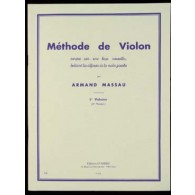 MASSAU A. METHODE DE VIOLON VOL 1