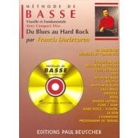 DARIZCUREN F. METHODE DE BASSE DU BLUES AU HARD ROCK
