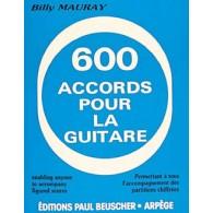 MAURAY B. 600 ACCORDS GUITARE