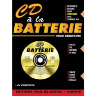 PONTIEUX L. CD A LA BATTERIE