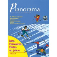 PIANORAMA MES PREMIERES PISTES AVEC CD