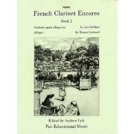 FRENCH CLARINET ENCORES BOOK 2 CLARINETTE