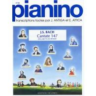 BACH J.S. CANTATE 147 PIANO