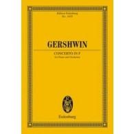 GERSHWIN G. CONCERTO FA PIANO ET ORCHESTRE