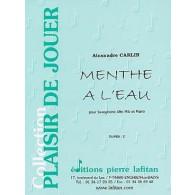CARLIN A. MENTHE A L'EAU SAXOPHONE