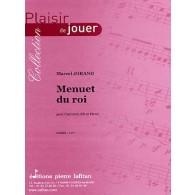 JORAND M. MENUET DU ROI CLARINETTE