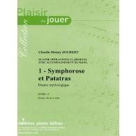 JOUBERT C.H. SYMPHOROSE ET PATATRAS CLARINETTE
