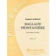LORIDAN S. BALLADE PRINTANIERE TROMBONE UT