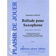 CARLIN A. BALLADE SAXOPHONE MIB