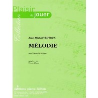 TROTOUX J.M. MELODIE VIOLONCELLE