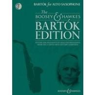 BARTOK FOR ALTO SAXOPHONE ET PIANO