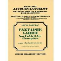 CAHUZAC L. FANTAISIE VARIEE CLARINETTE