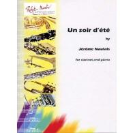 NAULAIS J. UN SOIR D'ETE CLARINETTE