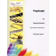PROUST P. TOPKAPI CLARINETTE